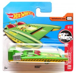 Hot Wheels angličák H2GO, Rescue 8/10